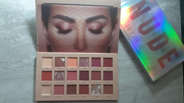Palette Nude Huda beauty